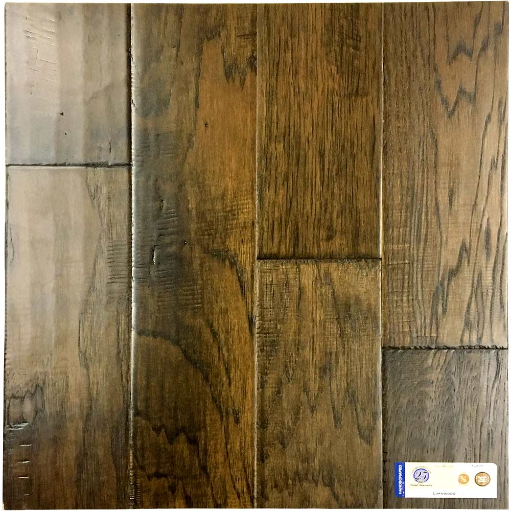 Earthwerks Engineered Hardwood American Hickory Yukon In Lakewood At Flooring Direct